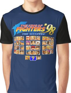 the King of Fighters '98 (Neo Geo Character Select) Graphic T-Shirt