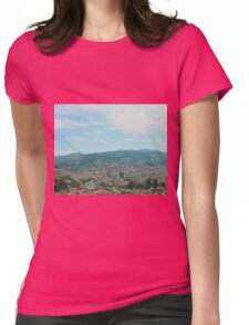 Valley of Bilbao Womens Fitted T-Shirt