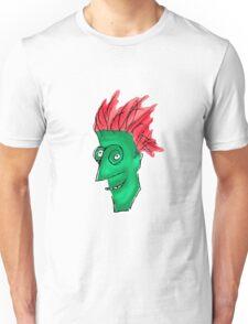 Crazy Man Drawing  Unisex T-Shirt