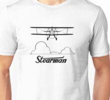 Stearman Clouds Head-On Unisex T-Shirt