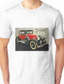 1929 Cadillac Victoria Coupe By CJ Anderson Unisex T-Shirt