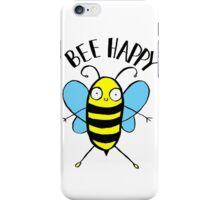 Bee Happy iPhone Case/Skin