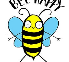 Bee Happy by lucylittler