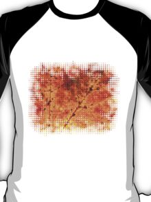 Fall maple leaf texture T-Shirt