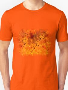 Fall maple leaf texture Unisex T-Shirt