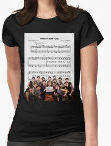 King of New York - Newsies Womens Fitted T-Shirt