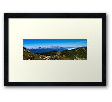 Rockey Mountain View Framed Print