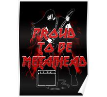 Proud to be metalhead Poster