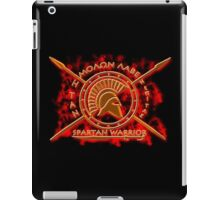 Spartan warrior - Molon lave and come back with your shield or on it! iPad Case/Skin