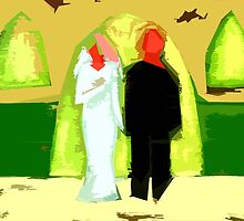 THE BLUSHING BRIDE AND GROOM 2 by pjmurphy