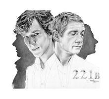 Sherlock & John Photographic Print