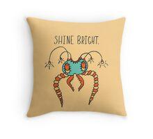 Shine Bright Illustration Throw Pillow