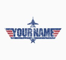 Custom Top Gun Style - DO NOT ORDER -  EXAMPLE ONLY - SEE DESCRIPTION by CallsignShirts
