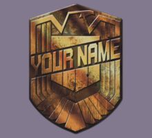 Custom Dredd Badge - DO NOT ORDER -  EXAMPLE ONLY - SEE DESCRIPTION Kids Clothes