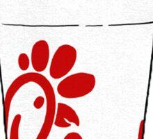 Chick-fil-A Cup Sticker