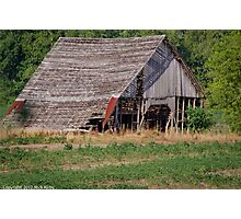 The Old Gray Barn Photographic Print