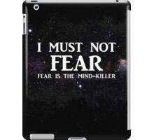 Litany Against Fear iPad Case/Skin