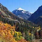 Mountain Between Seasons by lorilee