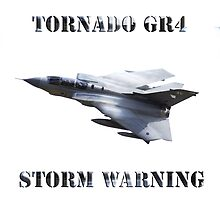 Tornado GR4 Storm Warning by AviationPrints