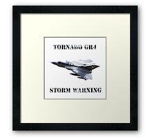 Tornado GR4 Storm Warning Framed Print