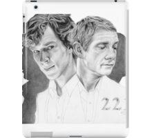 Sherlock & John iPad Case/Skin