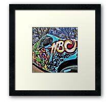 Color Blast 59 Framed Print