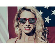 American Blonde Beauty 8935 Photographic Print