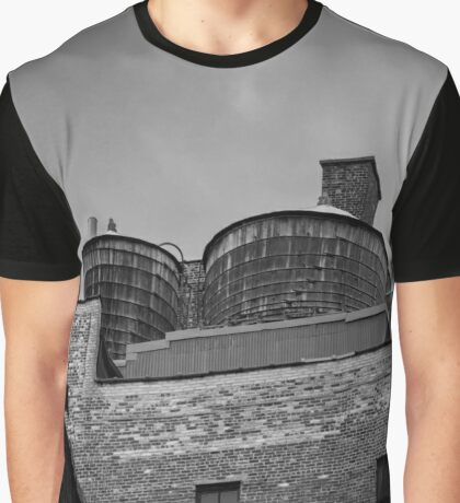 Water Towers | New York City, New York Graphic T-Shirt