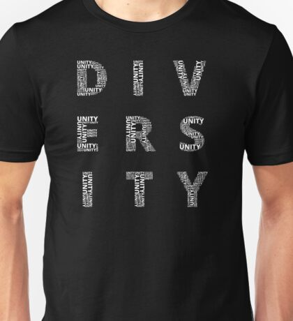 Customisable Unity in Diversity Unisex T-Shirt