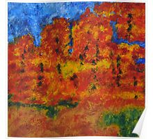 032 Abstract Landscape Poster