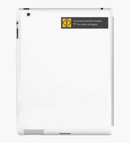 PSN Trophy - You shall not pass iPad Case/Skin