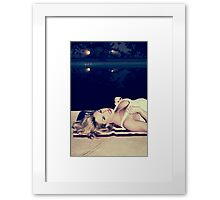 American Blonde Beauty 9294 Framed Print