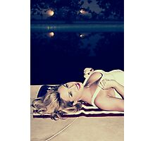 American Blonde Beauty 9294 Photographic Print