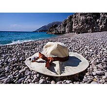 Summer Hat - Object Photography Photographic Print