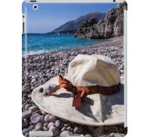 Summer Hat - Object Photography iPad Case/Skin
