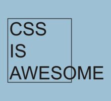 CSS Is Awesome Kids Clothes