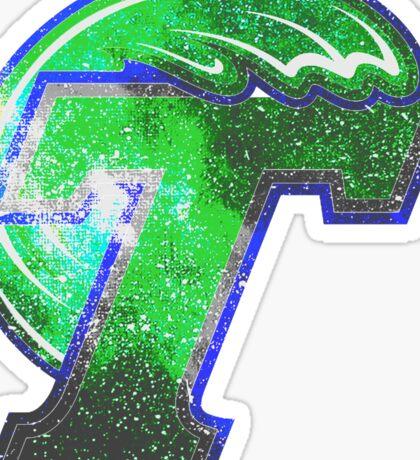 Galaxy Tulane University Sticker