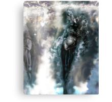 Machine Nightmare {Silver} [ Fantasy Figure Illustration ] Canvas Print