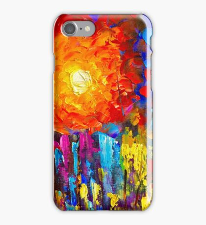 Funky Oil Colours iPhone Case/Skin