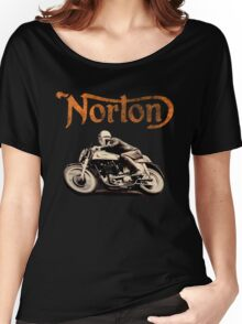 NORTON VINTAGE DESIGN Women's Relaxed Fit T-Shirt