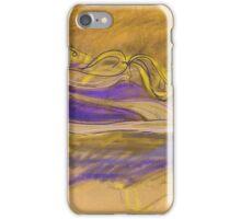 Purple trainers iPhone Case/Skin
