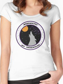 Werewolves Not Swearwolves Women's Fitted Scoop T-Shirt