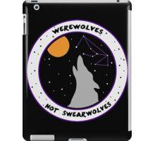 Werewolves Not Swearwolves iPad Case/Skin