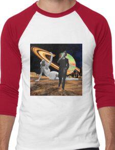 Walk Away Men's Baseball ¾ T-Shirt