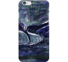 Blue fit flops iPhone Case/Skin