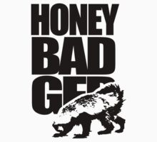 Honey Badger Kids Tee