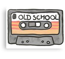Casette Tape Canvas Print