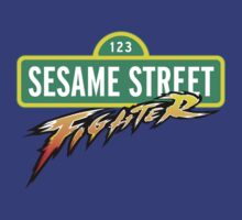 Sesame Street Fighter by Frans Hoorn