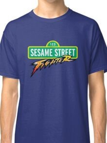 Sesame Street Fighter Classic T-Shirt