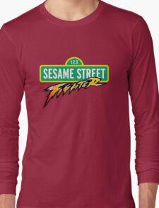 Sesame Street Fighter Long Sleeve T-Shirt